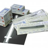 Sterile product packaging: Two-layer TYVEK packaging, carton and outer foil cover